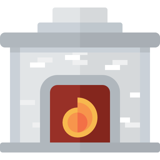 Fireplace Free Vector Icons Designed