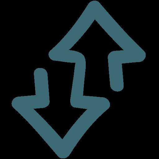 Arrow, Direction, Hand Drawn, Navigation, Way Icon