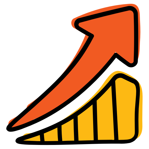 Chart, Growth, Invest, Market, Stock Icon