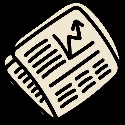 Market, News, Newspaper, Stock Icon