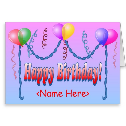 Happy Birthday Card Template Publisher Images