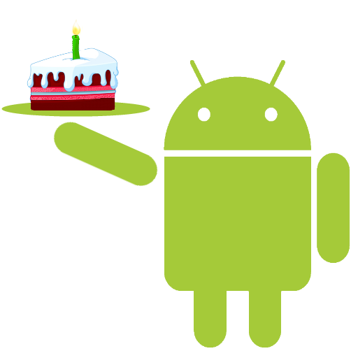 Android Happy Birthday Icon Png