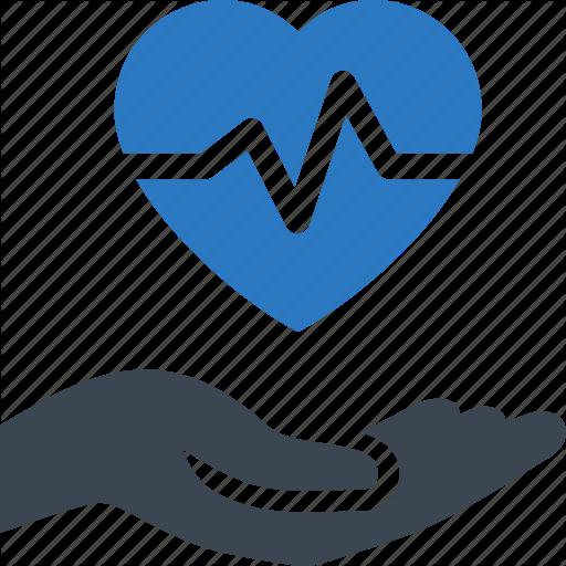 Healthcare, Heart Care, Heart Disease, Heart Health Icon