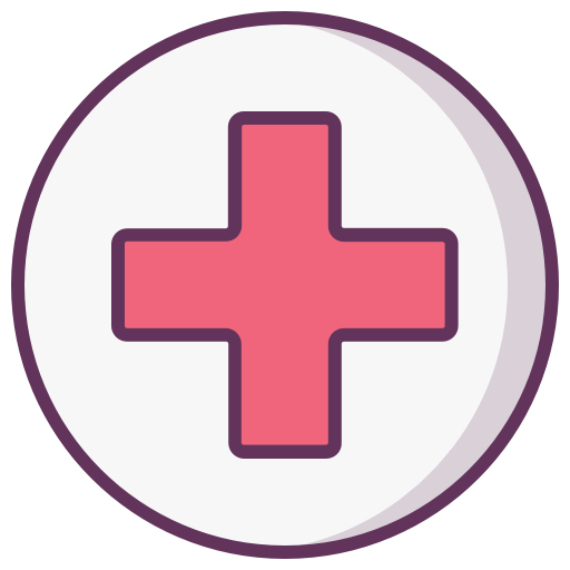 Construction, Protection, Health, Cross, Medical Icon Free