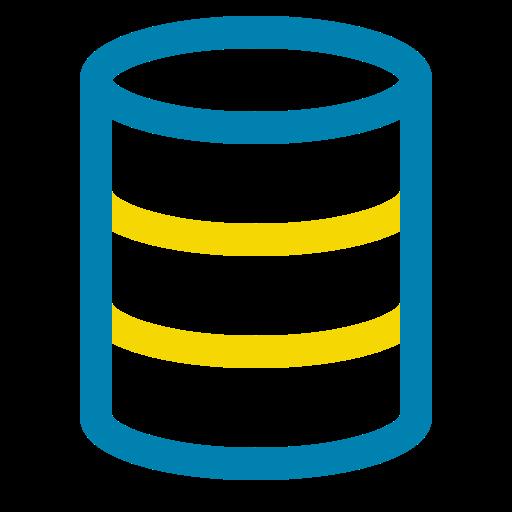 Big Data, Data, Database, Hosting, Storage Icon