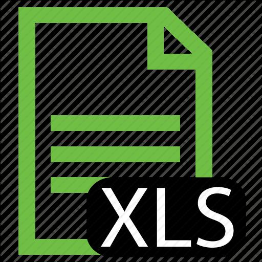 Excel Spreadsheet Icon File, Type, Xls Icon