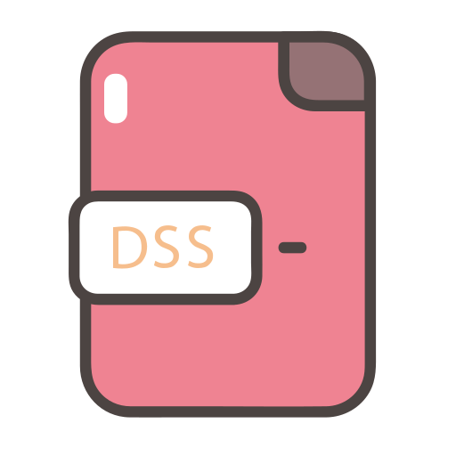 , Filetype, Dss Icon Free