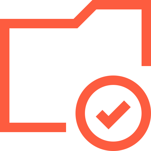 S Folder Success Icon Png And Vector For Free Download
