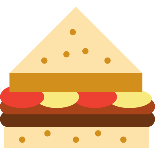 Sandwich Free Vector Icons Designed