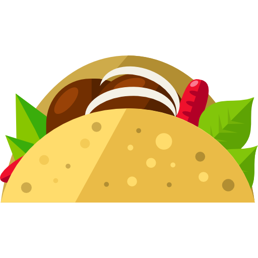 Taco Free Vector Icons Designed