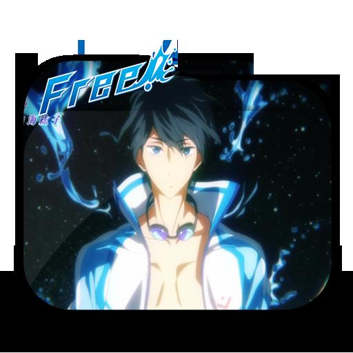Anime Free! Folder Icon