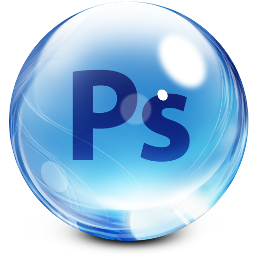Glassy Adobe Photoshop Icon