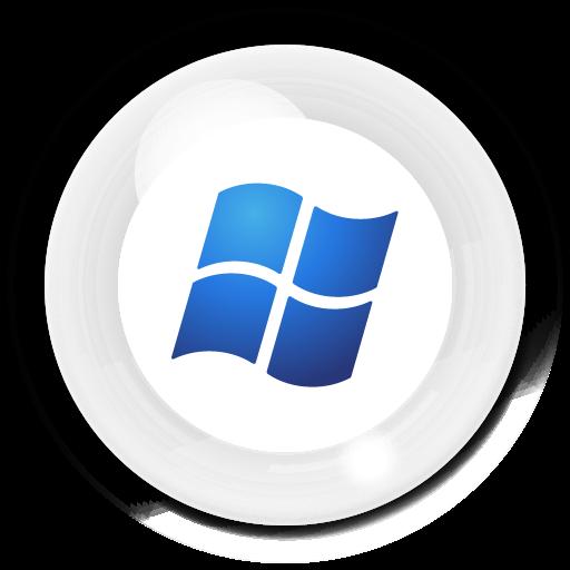 Inward Bubble Windows Icons, Free Inward Bubble Windows Icon