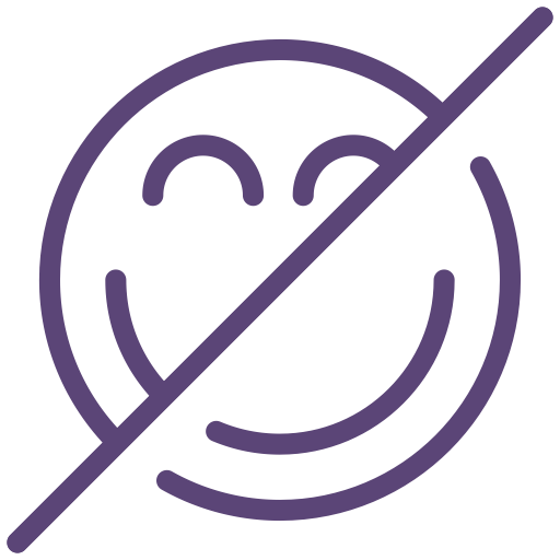 Face, Joke, No, Not Allowed, Sign, Smile Icon
