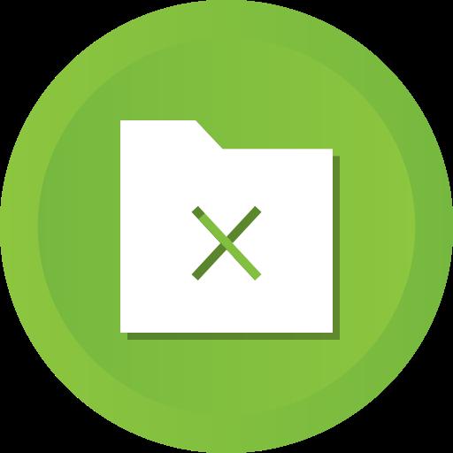 Delete, Files, Folder, Exit, Data, Remove Icon Free Of Ios Web