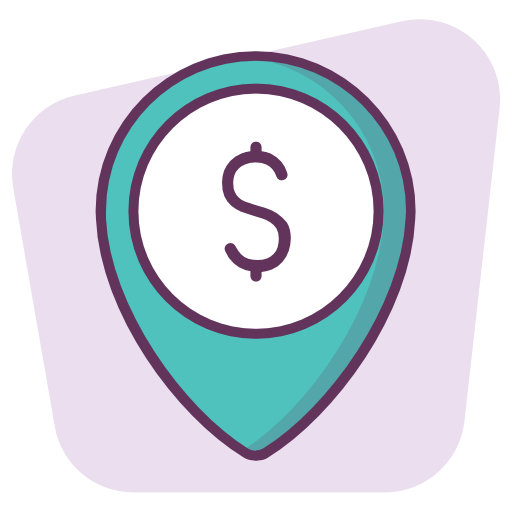 Location, Money, Point, Pointer, Map Icon Free Of Location Vol