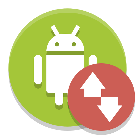 Android, File, Transfer Icon Free Of Papirus Apps