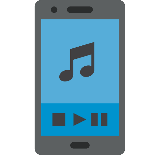 Listening, Mobile, Music, Phone, Play, Player, Sound Icon