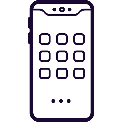 Cell, Iphone, Mobile, Notch, Phone, Samsung Icon Free Of Mobile