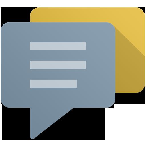 Messages Icon Flat Retro Modern Iconset Grafikartes