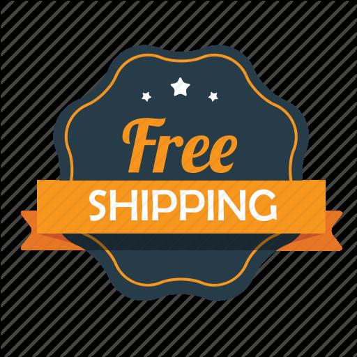 Ecommerce, Emblem, Free, Free Shipping, Guarantee, Shipping, Shop Icon