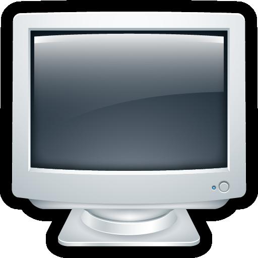 Computer, Crt, Desktop, Monitor Icon