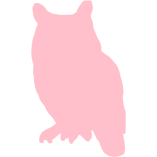 Pink Owl Icon