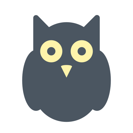 Halloween, Horror, Owl, Witch Icon Free Of Materia Flat