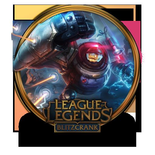 Blitzcrank Riot Icon League Of Legends Gold Border Iconset
