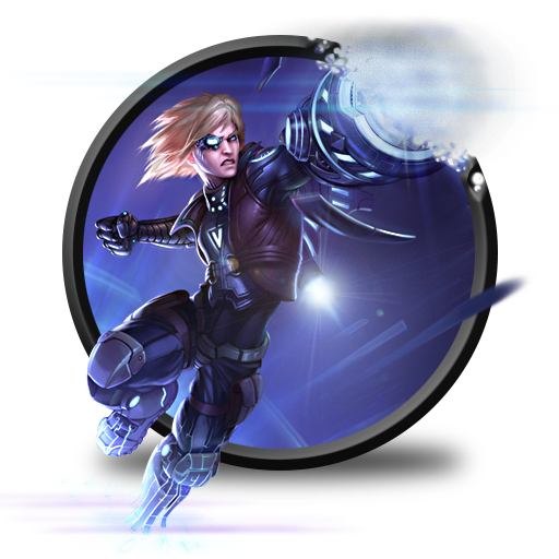 Ezreal Pulsefire Without Lol Logo Icon League Of Legends Iconset
