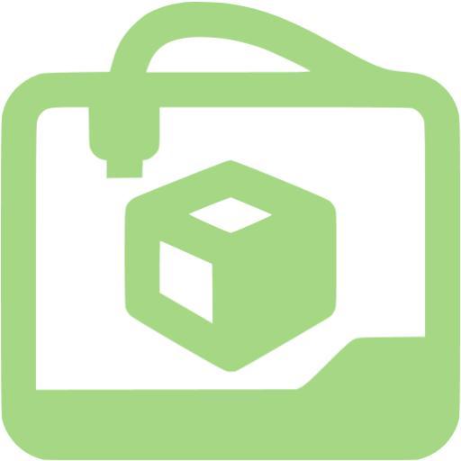 Guacamole Green Printer Icon