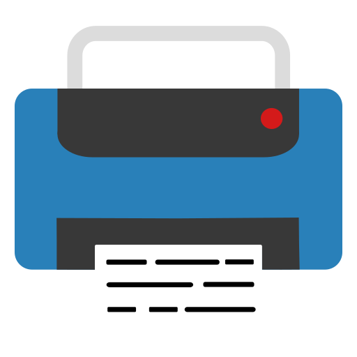 Printer Icon Free Of Super Flat Remix