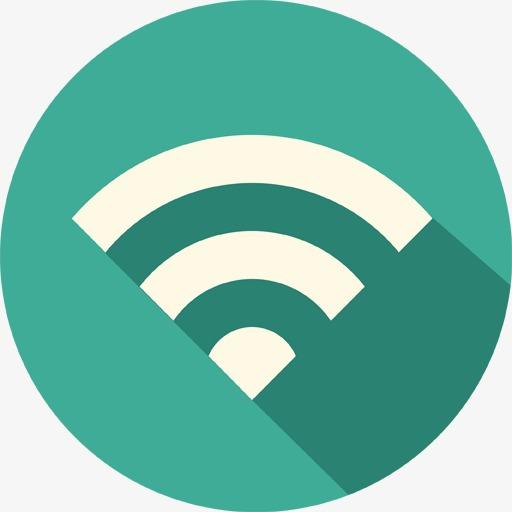 Round Wifi Icon, Round Icon, Wifi Creative, Wifi Icon Png Image