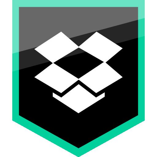 Dropbox Free Green Shield Icon Alfredocreates Free Social Media