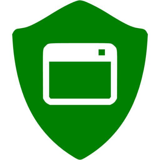 Green App Shield Icon