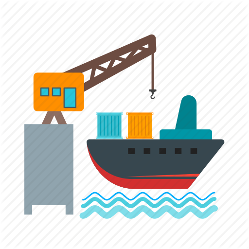 Shipping Vector Cargo Ship Huge Freebie! Download