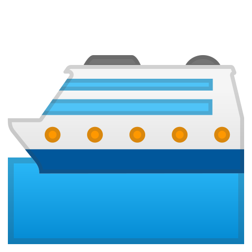Passenger, Ship Icon Free Of Noto Emoji Travel Places Icons