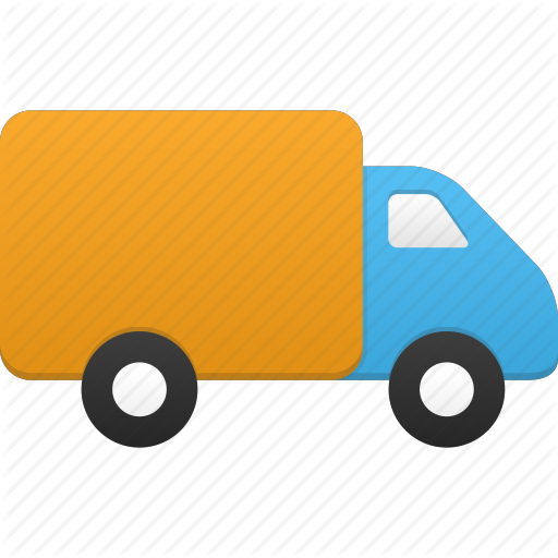 Delivery Van Icon Images