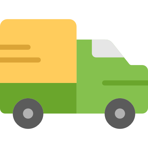 Delivery, Transportation, Delivery Truck Icon