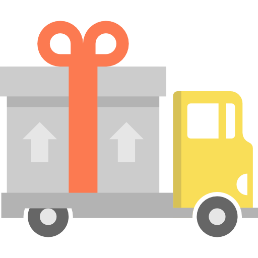 Delivery Truck, Transport, Shipping Icon