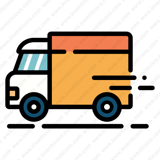 Download Delivery,truck Icon Inventicons