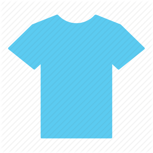 Blue, Clothes, Clothing, Jersey, Light Blue, Shirt, T Shirt Icon