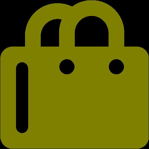 Olive Shopping Bag Icon