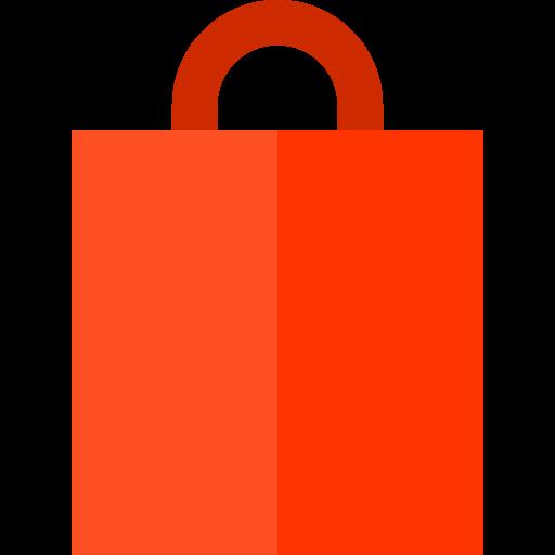 Supermarket, Shopping Store, Shopping Bag Icon