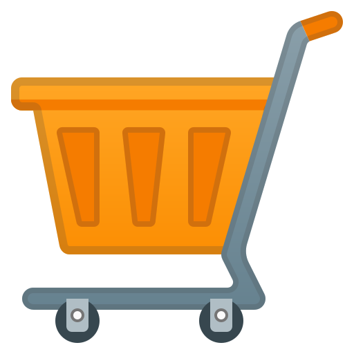 Shopping, Cart Icon Free Of Noto Emoji Objects