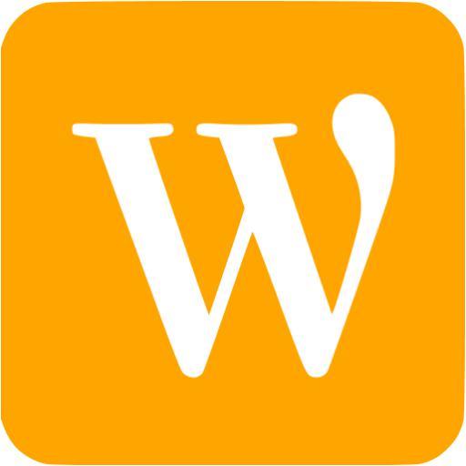 Orange Wordpress Icon