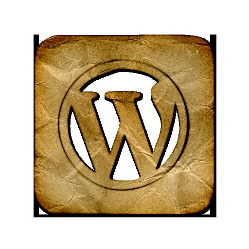 Wordpress Logo Square Webtreatsetc Icons, Free Icons In Crumpled