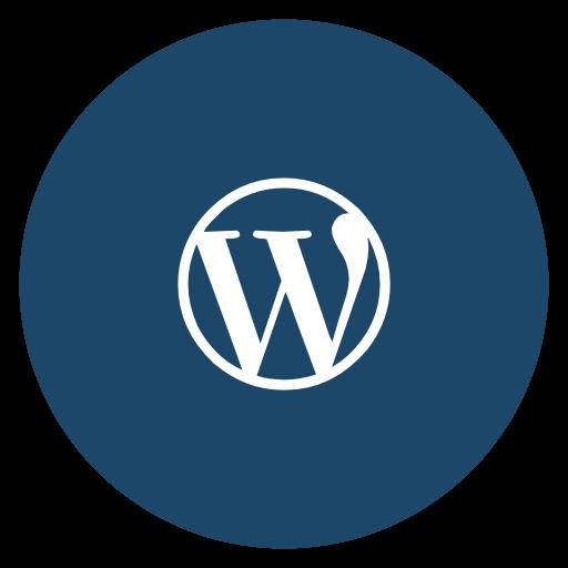 Wordpress Icon Free Of Flat Social Media Icons Set
