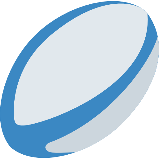 Rugby Ball Free Icon