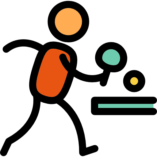 Sports Ping Pong Icon